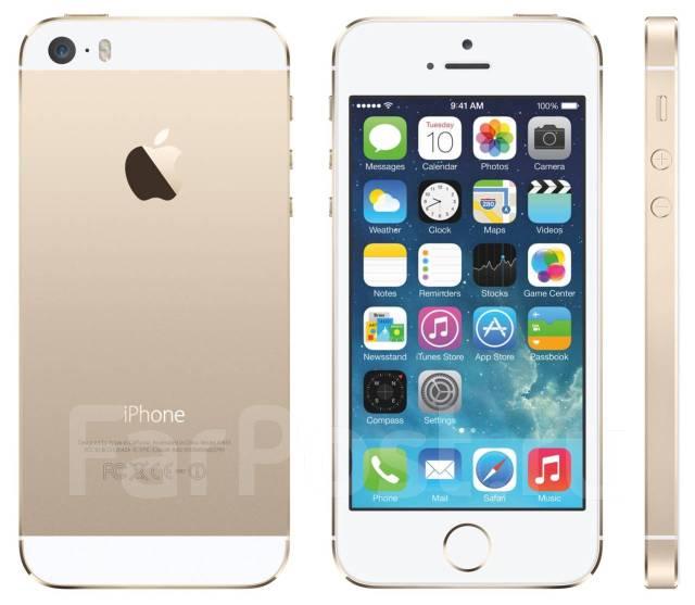 Apple iPhone 5s. Новый, 64 Гб, Золотой