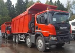 Scania P440. Scania Р440 В8x4 HZ Углевоз, 12 740куб. см., 32 000кг., 8x4