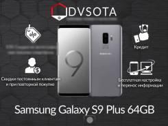Samsung Galaxy S9+. Новый, 64 Гб, Серый, 4G LTE, Dual-SIM, Защищенный