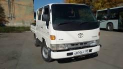 Toyota ToyoAce. 4 ВД с кнопки, хабы, двойная рама, категория В, Обмен, 2 800куб. см., 1 500кг., 4x4