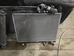 Радиатор охлаждения двигателя. Toyota Raum, NCZ20