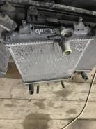 Радиатор охлаждения двигателя. Toyota Passo, QNC10