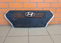 Решетка радиатора. Hyundai Solaris, HCR