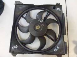 Вентилятор охлаждения радиатора. Hyundai Trajet Двигатель D4BB