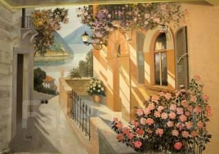 Художник. Художественная роспись стен, фасадов. Приемлемые цены.