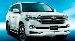 Обвес кузова аэродинамический. Toyota Land Cruiser, GRJ200, J200, URJ200, URJ202, URJ202W, UZJ200, UZJ200W, VDJ200 Двигатели: 1URFE, 1VDFTV