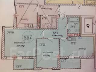 2-комнатная, улица Мореходная 1. Южный, частное лицо, 59кв.м.