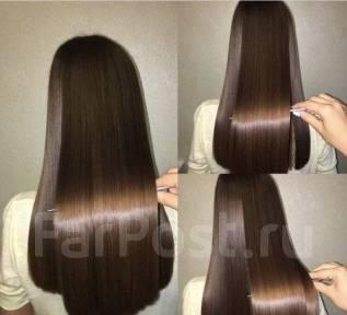 Кератиновое выпрямление, Ботокс для волос, Нанопластика