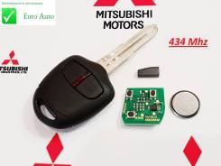 Ключ зажигания, смарт-ключ. Mitsubishi Pajero Mitsubishi Lancer Mitsubishi ASX Mitsubishi Outlander, GG3W, GF7W, GF2W, GF3W, GG2W, GF8W, GF4W Двигател...