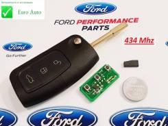 Ключ зажигания, смарт-ключ. Ford Focus, CB4, DA3, DB Ford Galaxy, CD340 Ford Fiesta, CBK Ford Mondeo, B4Y, B5Y, BWY Двигатели: AODA, AODB, AODE, ASDA...