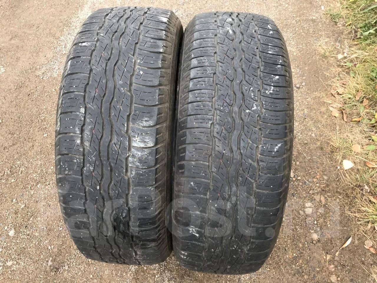 Bridgestone Dueler D 687t 235 Daftar Harga Terkini Terlengkap Voucher Ban Mobil New Techno Tecaz 185 65 R15 H T 687