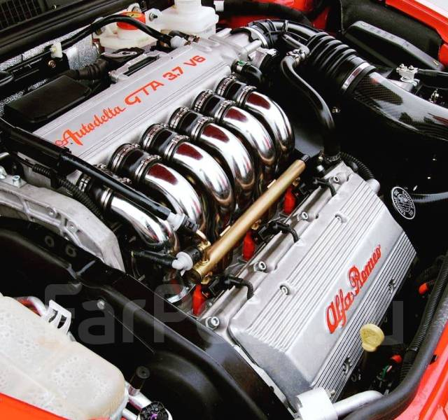 Двигатель AR32405 v6 2.5 Busso AlfaRomeo 156,166