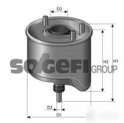 Фильтр топливный, сепаратор. Citroen C2 Citroen C3 Citroen Berlingo Citroen C4