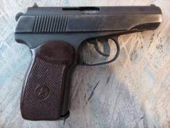 Пистолет Макарова (ПМ) МР-654-32, кованый, бородатый, из боевого