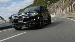 Накладка декоративная. Toyota Land Cruiser, GRJ200, J200, URJ200, URJ202, URJ202W, UZJ200, UZJ200W, VDJ200 Двигатели: 1GRFE, 1URFE, 1VDFTV, 3URFE