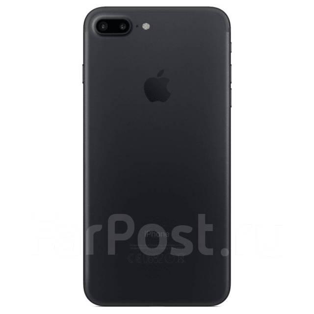 5929bde0d9d1 iPhone 7 Plus 128Gb matte black, полный комплект, коробка ...