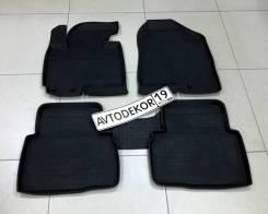 Коврики. Kia Sportage, SL Hyundai ix35, LM Двигатели: G4KE, G4KD, G4NU, G4FD, G4KH, D4HA, D4FD, G4NA
