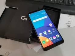 LG G6. Б/у, 32 Гб, Черный, 3G, 4G LTE, Dual-SIM, Защищенный