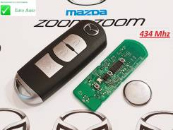 Ключ зажигания, смарт-ключ. Mazda Atenza Mazda CX-3 Mazda Axela Mazda CX-5