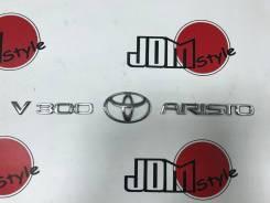 Эмблема багажника. Toyota Aristo, JZS161