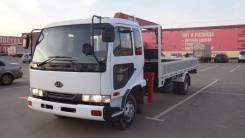 Nissan Diesel Condor. Продам грузовик с манипулятором nissan diesel UD без пробега по России, 6 900куб. см., 5 000кг., 4x2