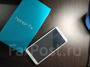 Huawei Honor 7X. Б/у, 64 Гб, Золотой, 3G, 4G LTE