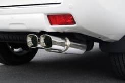 Выхлопная система. Toyota Land Cruiser Prado, GRJ150, GRJ150L, GRJ150W, GRJ151, GRJ151W Двигатель 1GRFE