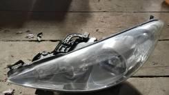 Фара левая Peugeot 207 '05~