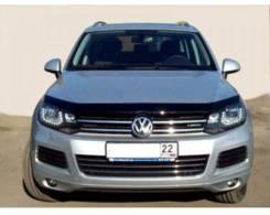 Дефлектор капота. Volkswagen Touareg, 7P5 Двигатели: CASA, CASD, CATA, CGEA, CGFA, CGNA, CGRA, CJGD, CJMA, CKDA, CMTA, CNRB, CRCA. Под заказ