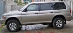 Ветровик на дверь. Mitsubishi Pajero Sport, K90, K94W, K96W Двигатели: 4D56, 6G72. Под заказ