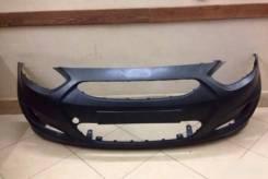Бампер передний Hyundai Solaris Солярис 10-14