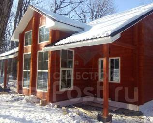 Строим дома из клееного и профилированного бруса под ключ