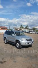 Toyota Land Cruiser Prado. 2005 г. серебристый