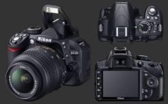 Nikon D3100 Kit. 10 - 14.9 Мп, зум: 4х