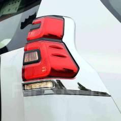 Накладка на стоп-сигнал. Toyota Land Cruiser Prado, GDJ150L, GDJ150W, GDJ151W, GRJ150L, TRJ150L, TRJ150W Двигатели: 1GDFTV, 1GRFE, 2TRFE