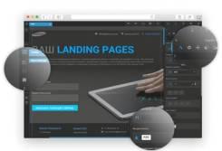 10 конструкторов Landing Page + админ панель