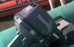 Tohatsu. 9,80л.с., 2-тактный, бензиновый, нога S (381 мм), 2009 год год