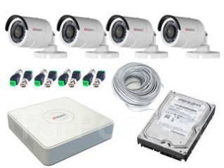 Установка систем видеонаблюдения под ключ, от 700 рублей за камеру.