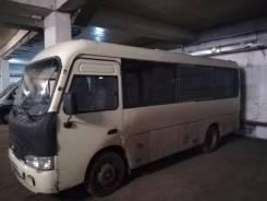 Hyundai County. Продаётся автобус Hyundai Caunty, 17 мест, С маршрутом, работой