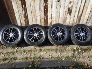 Dunlop SP Winter ICE 01. Зимние, шипованные, 2014 год, 5%, 4 шт
