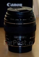 Объектив Canon 85mm f/1.8 USM (на гарантии)