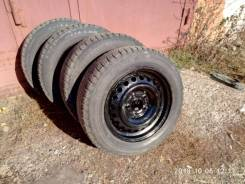 Bridgestone Blizzak Revo2. зимние, без шипов, б/у, износ 30%