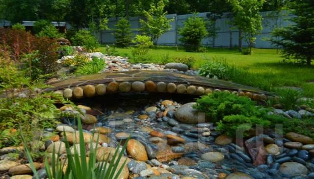Декоративные ручьи для помещений. Под заказ