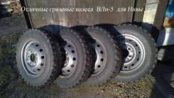 """Колеса от Нивы ВлИ-5 175/80R16. 5.0x16"""" 5x139.70 ET58 ЦО 98,0мм."""