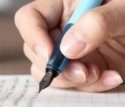 Ручки перьевые.
