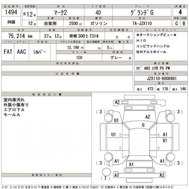 Накладки средних стоек Toyota Mark 2