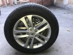 """Зимние нешипованные колёса на литых дисках Nissan. x17"""" 5x114.30 ET47 ЦО 65,0мм."""