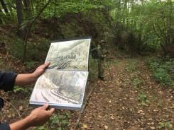 Скандинавская ходьба по тайге, по местам истории Приморья