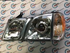 Комплект оптики ( полный ) Lexus LX470 / TLC Cygnus. Toyota Land Cruiser Toyota Land Cruiser Cygnus Lexus LX470. Под заказ