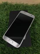Samsung Galaxy S7. Б/у, 32 Гб, Серебристый, 3G, 4G LTE, Dual-SIM